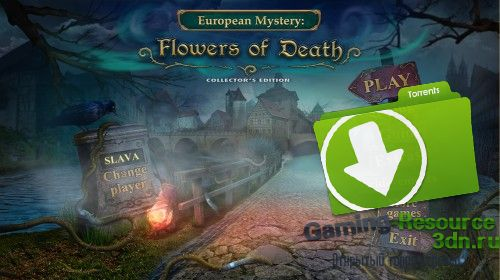 European Mystery 3: Flowers of Death [Collector's Edition] [P] [ENG / ENG] (2015)