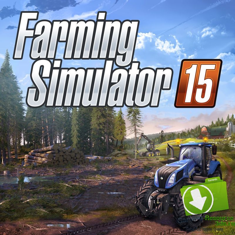 Farming Simulator 15: Gold Edition [v 1.4.1 + 5 DLC] [RUS/ENG] [MULTI18] (2015) | RePack