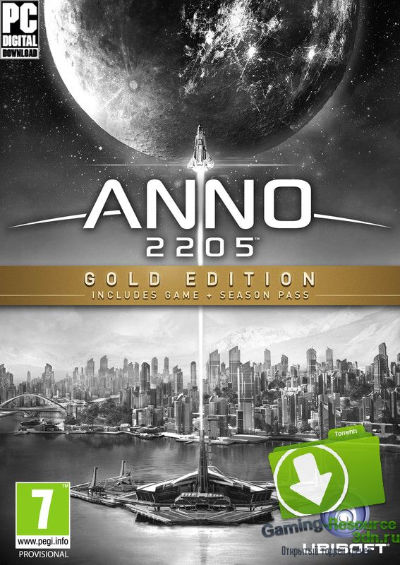 Anno 2205: Gold Edition [v 1.1.2124.38702] [RUS / RUS] [1 DLC] (2015) | RePack от SpaceX