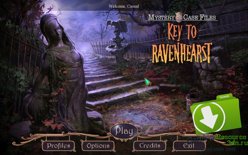 Mystery Case Files 12: Key To Ravenhearst [Collector's Edition] [P] [ENG / ENG] (2015)