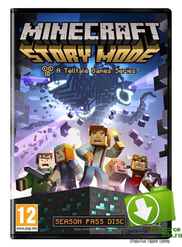 Minecraft: Story Mode - A Telltale Games Series | Episode 1-2 | [RUS / ENG] [MULTi7] (2015) | RePack от R.G. Liberty