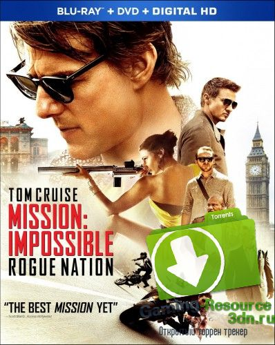 Миссия невыполнима. Племя изгоев / Mission: Impossible - Rogue Nation (2015) HDRip