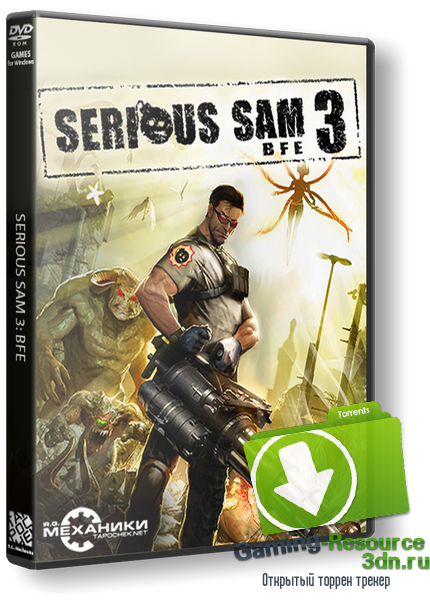 Крутой Сэм 3: BFE / Serious Sam 3: BFE (2011) PC | RePack от R.G. Механики