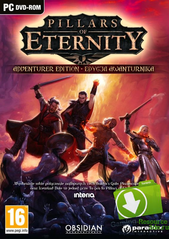 Pillars of Eternity: Royal Edition [v 2.03.0788 PX1 + 3 DLC] [RUS / ENG] [GOG] (2015) | RePack от SpaceX