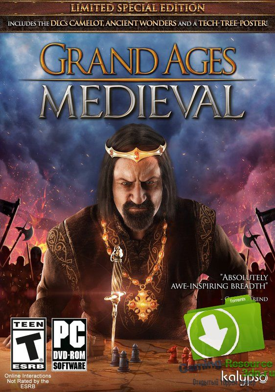 Grand Ages: Medieval [v 1.1.0.20762 + 2 DLC] [RUS / RUS] (2015) | RePack от R.G. Catalyst