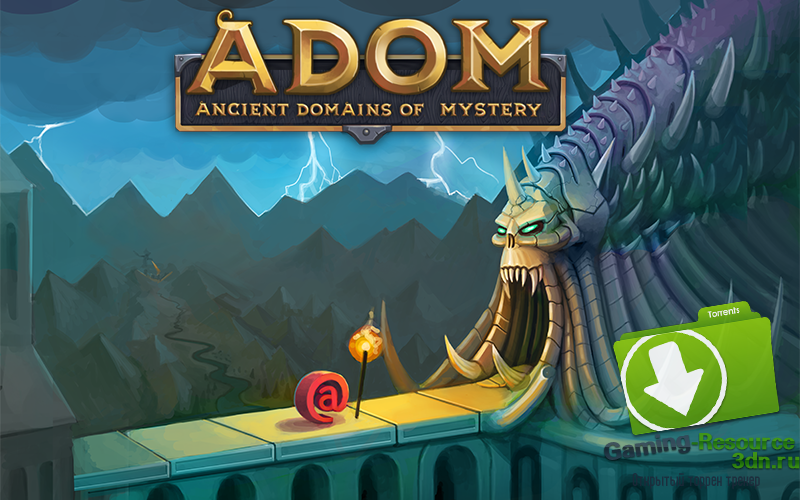 ADOM (Ancient Domains Of Mystery) / Release 60 (2015)