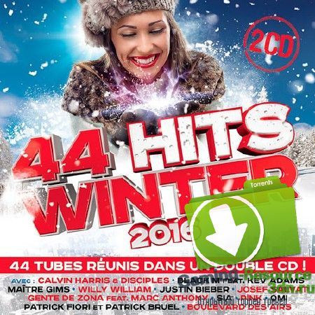 VA - 44 Hits Winter 2016 (2015) MP3