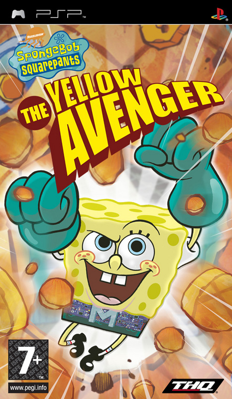 PSP SpongeBob Squarepants: The Yellow Avenger
