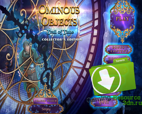 Ominous Objects 3: Trail of Time Collector's Edition [P] [ENG / ENG] (2015)