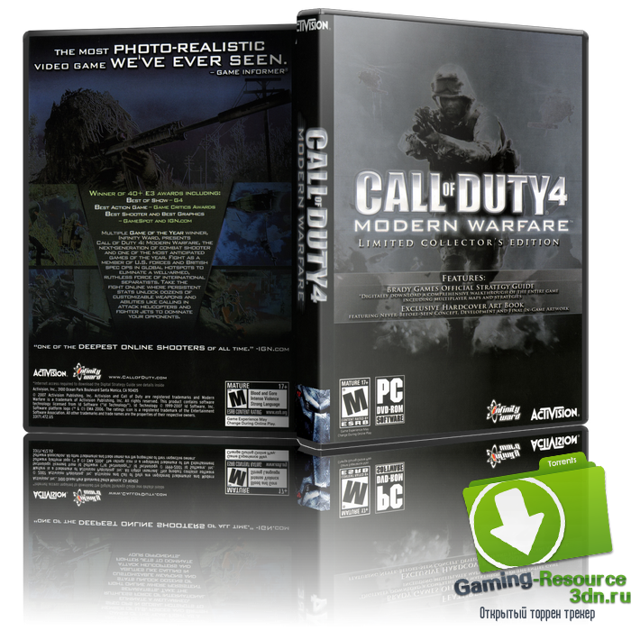Call of Duty 4 Modern Warfare (2007) PC (Multiplayer only) new patch v1.8