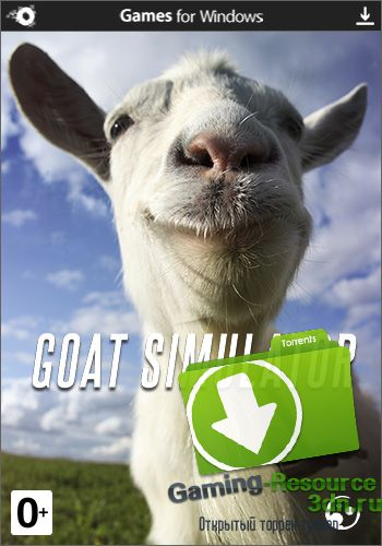 Симулятор Козла / Goat Simulator [v 1.4.52198 + 2 DLC] (2014) PC | Лицензия