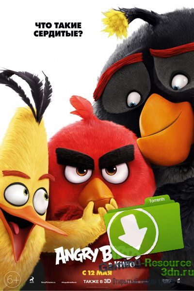 Angry Birds в кино / The Angry Birds Movie (2016) WEBRip 1080p