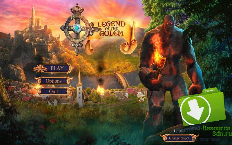 Royal Detective 3: Legend of the Golem [Collector's Edition] [P] [ENG / ENG] (2016)