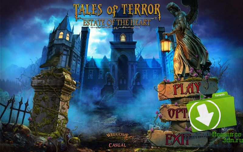Tales of Terror 3: Estate of the Heart [Collector's Edition] [P] [ENG / ENG] (2016)