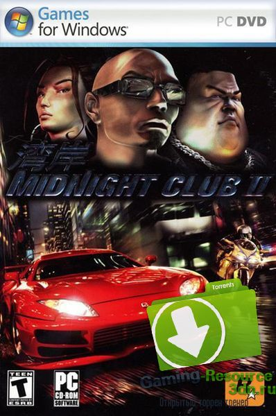 Midnight Club 2 (2009) (1C) (RUS) [P]