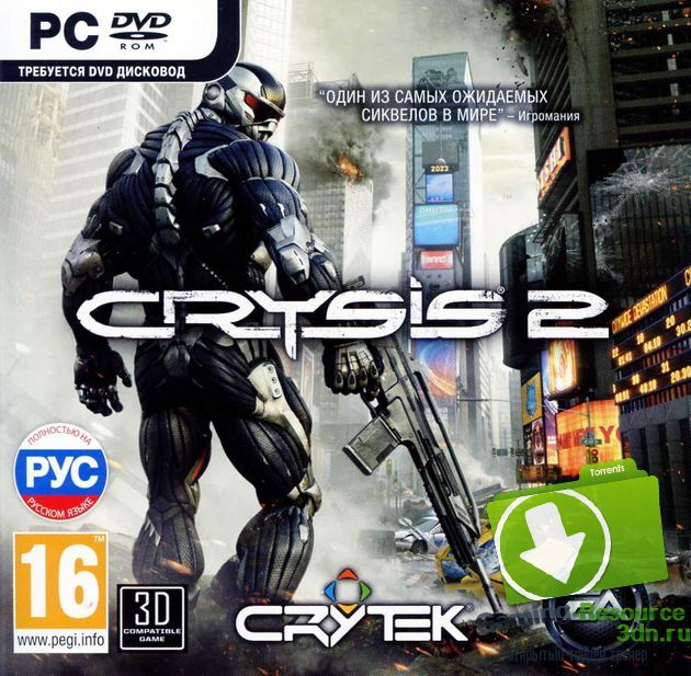 Crysis 2 (2011) [RUS/ENG] от R.G. Catalyst
