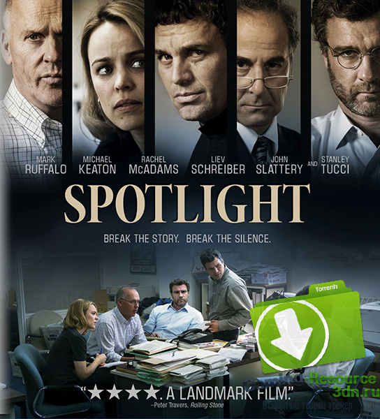В центре внимания / Spotlight (2015) BDRip 720p