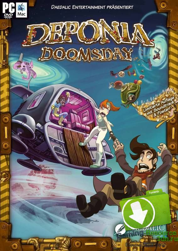 Deponia Doomsday (ENG / RUS) [Repack] от R.G. Механики