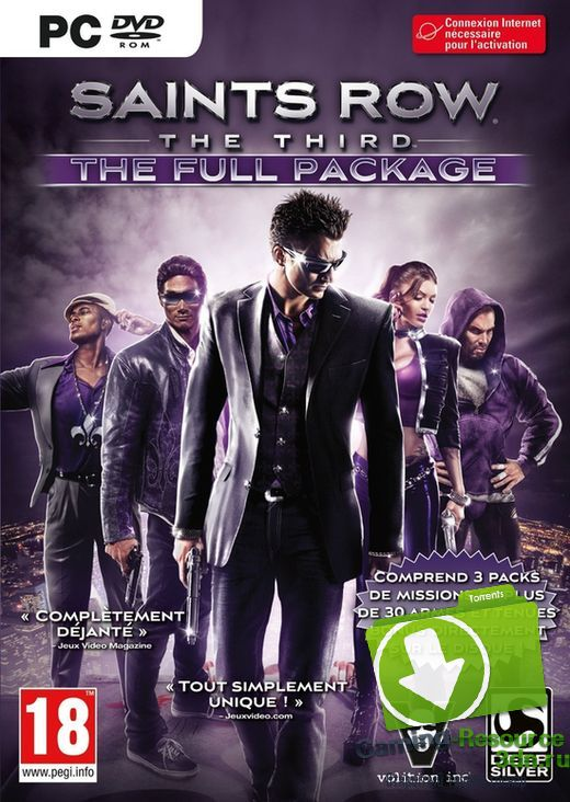 Saints Row: The Third. The Full Package (2011) [RUS/ENG|MULTi9] [L] [GOG]