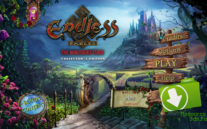 Endless Fables:The Minotaur's Curse [Collector's Edition] [P] [ENG / ENG] (2016)