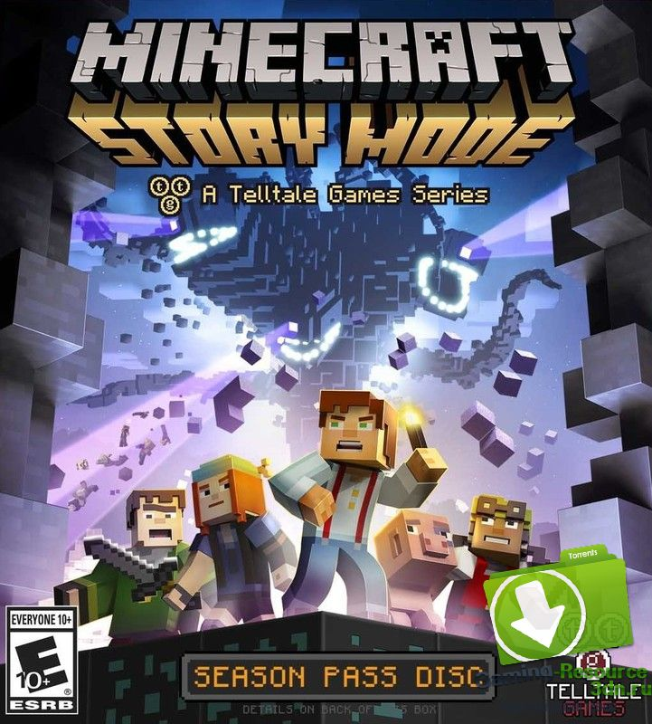 Minecraft: Story Mode (ENG / RUS) [Repack] от R.G. Catalyst