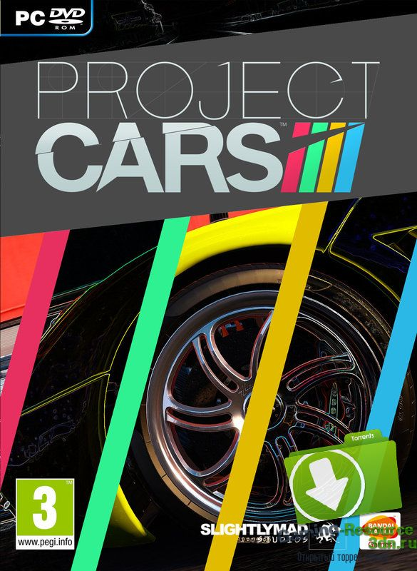 Project CARS (ENG / RUS) [Repack] от R.G. Catalyst