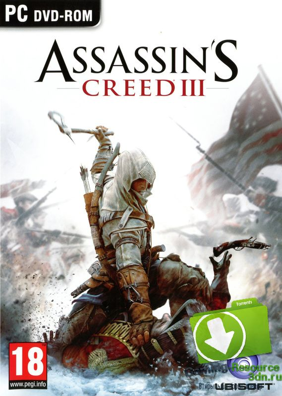 Assassin's Creed III: Deluxe Edition + Full DLC v.1.0.6 (2013) (RUS | ENG | Multi 18) [Steam-Rip] от R.G. Pirats Games