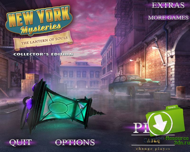 New York Mysteries 3: The Lantern of Souls [Collector's Edition] [P] [ENG / ENG] (2016)