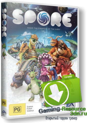 Spore: Full Version (RUS) [Lossless RePack] от RG Packers